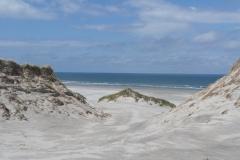 zon, zee, strand en yoga op Terschelling