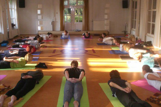 Yogazaal Yoga Wellness Weekend op de Veluwe.