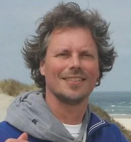 Foto Peter van der Burg, initiatiefnemer en organisator van yogaweekenden en yogavakanties op Terschelling en de Veluwe