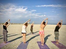 yoga vakantie op het strand aan zee (11)